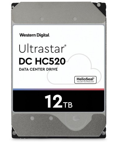 "Disk HDD HGST Western Digital Ultrastar DC HC 520 (He12) HUH721212ALN604 (12 TB/ 3.5""/ SATA III)"
