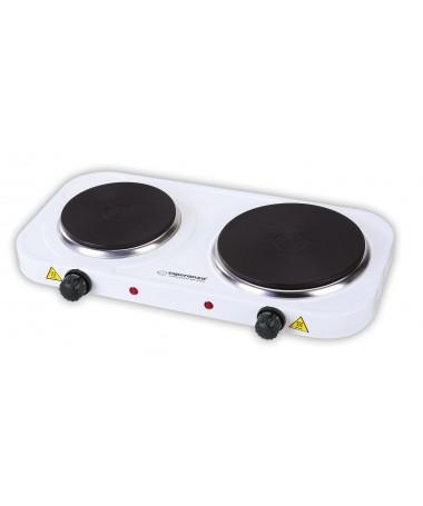 Mini pllakë për gatim Esperanza YELLOWSTONE EKH007W ( 2 pllaka/ 1000 W/ 1500 W/ e bardhë)