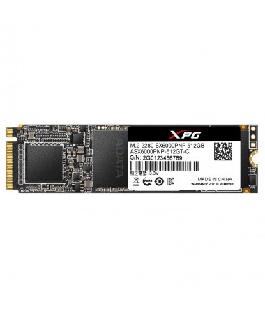 ADATA DISK SSD XPG SX6000Pro 512G PCIe 3x4