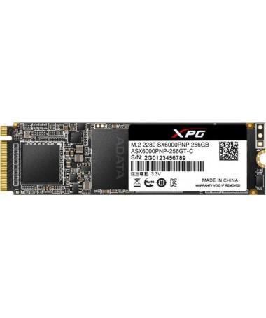 ADATA DISK SSD XPG SX6000Pro 256G PCIe 3x4