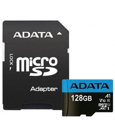 Kartelë memorike microSD Premier 128GB UHS1/CL10/A1+shëndrrues