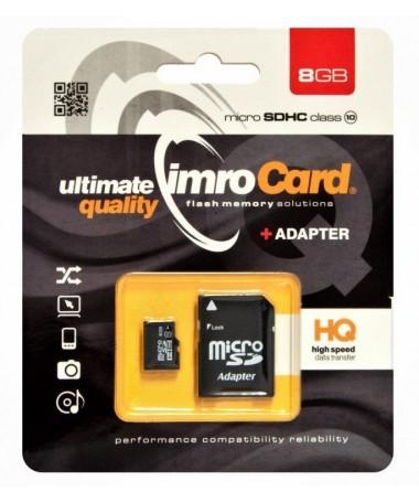 Kartelë memorike IMRO 10/8G ADP (8GB/ Class 10/ + shëndrrues)