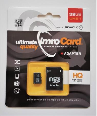 Kartelë memorike MICRO SDHC MICROSD10/32G UHS-I ADP