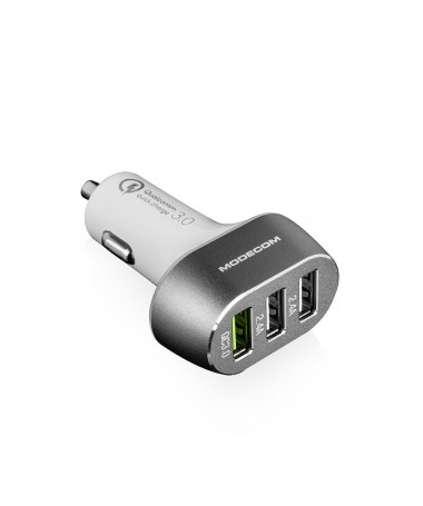 Mbushës MODECOM MC-CU3 (Quick Charge 3.0 + 2x USB)