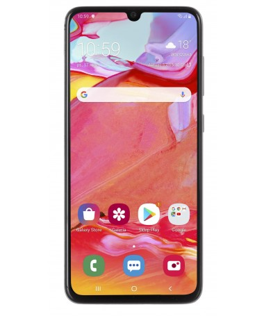 "Smartfon Samsung Galaxy A70 128GB e bardhë (6/7""/ Super AMOLED/ 2400x1080/ 6 GB/ 4500mAh)"