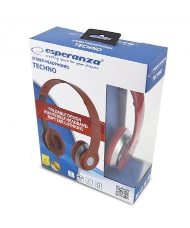 Kufje Esperanza TECHNO EH145R (e kuqe)