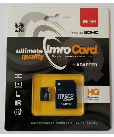 Kartelë memorike IMRO SDHC MICROSD4/8G ADP