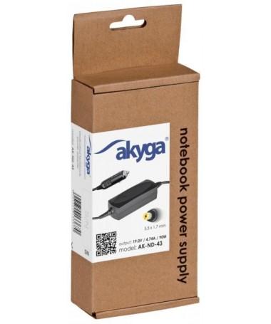 Mbushës rryme për laptopë AKYGA 19V/4.74A 90W AK-ND-43