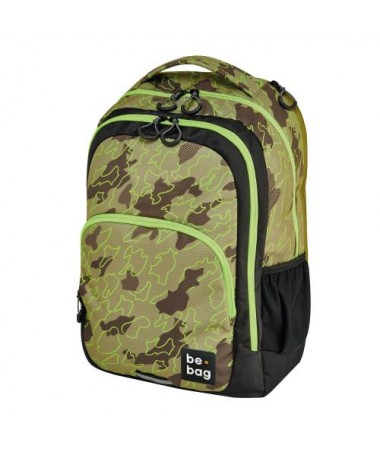 ÇANTË SHKOLLORE BE.BAG READY ABSTRACT CAMOUFLAGE HERLITZ
