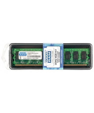 RAM Memorje GOODRAM DDR2 2048MB PC800 DUAL 2 x 1024 CL6