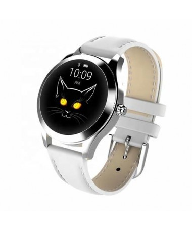 Smartwatch oromed Smart Lady e bardhë Puls IP68 .