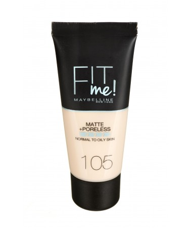 Fondatinë Maybelline Fit Me! 105 Natural Ivory (30 ml )