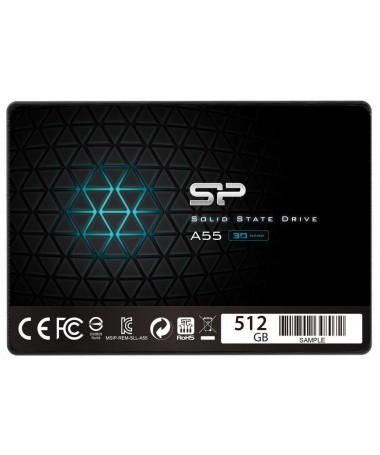DISK SSD Silikon Power A55 SP512GBSS3A55S25 (512 GB / 2.5 inç/ SATA III)