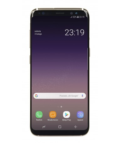 "Smartfon Samsung Galaxy S8 64GB e artë (5/8""/ Super AMOLED/ 2960x1440/ 4 GB/ 3000mAh)"