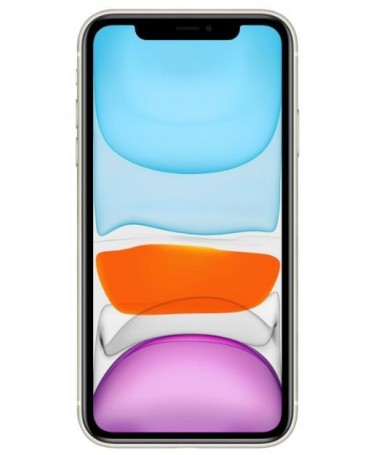 "Smartfon Apple iPhone 11 64GB e bardhë (6/1""/ IPS/ LCD/ Liquid Retina HD/ Multi-Touch/ Technologia True Tone/ 1792x828/ 4 GB/ 3"
