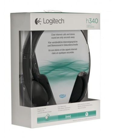 Kufje Logitech 981-000475 (E zezë)