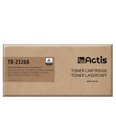TONER BROTHER TN-2320 (TB-2320A) ACTIS