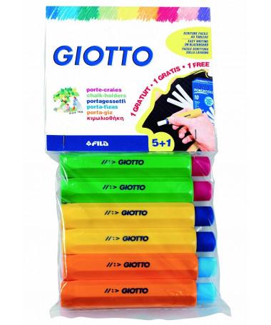PLASTIC CHALK HOLDER 5+1 GIOTTO