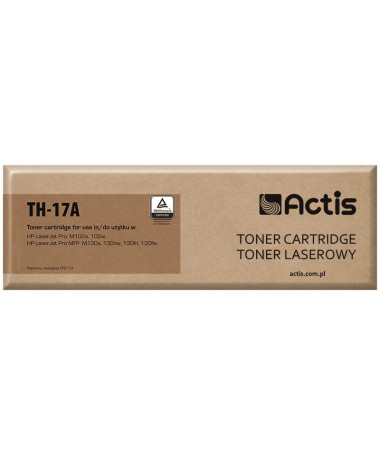 TONER HP 17A (CF217A) TH-17A ME CHIP ACTIS