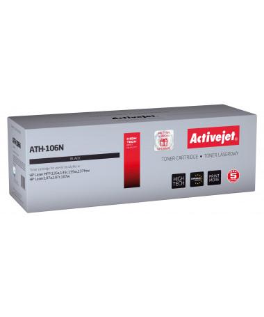 Activejet Toner HP 106A (ATH-106N HP 106A W1106A 1000p/ e zezë)