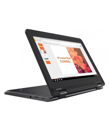 "Laptop Lenovo ThinkPad Yoga 11e Hybrid E zezë 29.5 cm (11.6"") 1366 x 768 pixels Touchscreen Intel® Celeron® 4 GB DDR4-SDRAM 128"