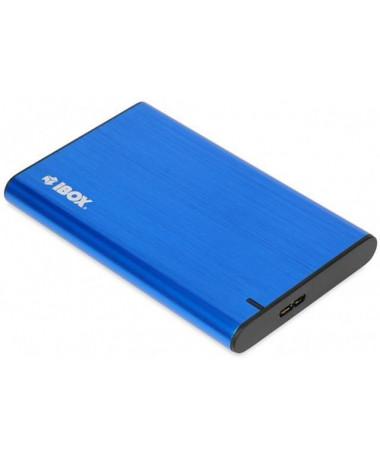 """Shtëpizë për disqe iBox HD-05 2.5"""" HDD/SSD e kaltër"""