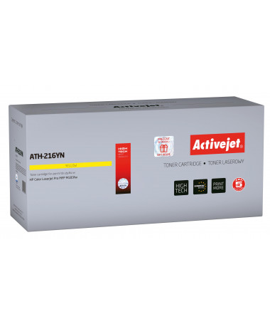 Activejet Toner HP 216A W2412A 850 faqe Yellow ( pa chip)