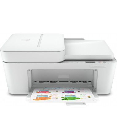 HP Printer All-in-One DeskJet Plus 4120 inkjet 4800 x 1200 DPI 8.5 ppm A4 Wi-Fi