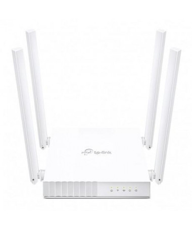 Router TP-LINK ARCHER C24 Fast Ethernet Dual-band (2.4 GHz / 5 GHz) e bardhë