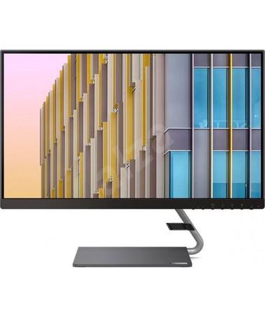 """Monitor Lenovo Q24h-10 (23.8"""") 2560 x 1440 pixels WQHD LED e hirtë"""