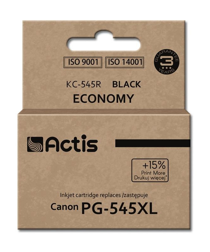 KERTRIXH CANON PG-545XL (KC-545R) 15ml E zezë ACTIS