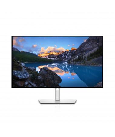 """Monitor DELL UltraSharp U2722D 68.6 cm (27"""") 2560 x 1440 pixels Quad HD LCD E zezë/ e argjendtë"""