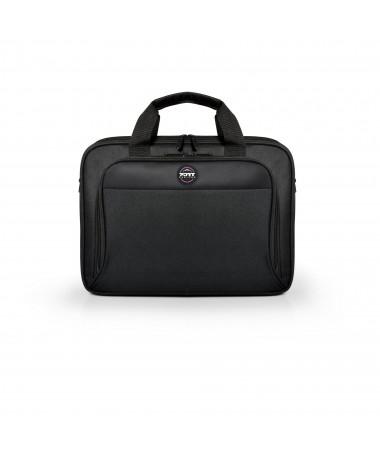 """Port Designs S15+ Çantë për laptop 39.1 cm (15.4"""") Briefcase e zezë"""