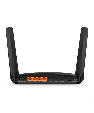 TP-LINK 4G+ Cat6 AC1200 Wireless Dual Kapëse për kabllo Gigabit Router