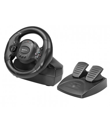 Tracer Timon Gaming Steering + Pedale PlayStation 4/ Playstation 3/ Xbox One/ PC E zezë