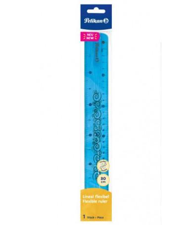 VIZORE 30cm e kaltër FLEXIBILE BLISTER PELIKAN