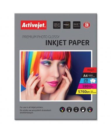 Fotoletër Activejet AP4-180G20 (A4, 20copë)