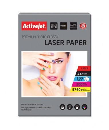 Fotoletër Activejet AP4-200G100L (A4, 100copë)