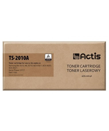 Toner ACTIS TS-2010A ( Samsung ML-1610D2/ML-2010D3, Standard, 3 000 faqe , E zezë)