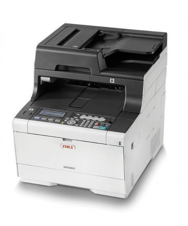Printer multifunksional OKI MC563dn 46357132 (Laser- me ngjyrë, A4, Flatbed)