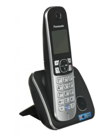Telefon fiks wireless Panasonic KX-TG6811 PDB ( e zezë,e hirtë )