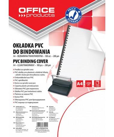 KOPERTINA TRANSPARENTE A4 200mic OFFICE PRODUCTS