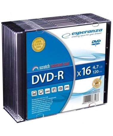DVD-R 4.7GB 120 min SLIM ESPERANZA