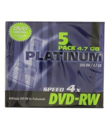 DVD-RW 4.7GB 4x SLIM PLATINUM
