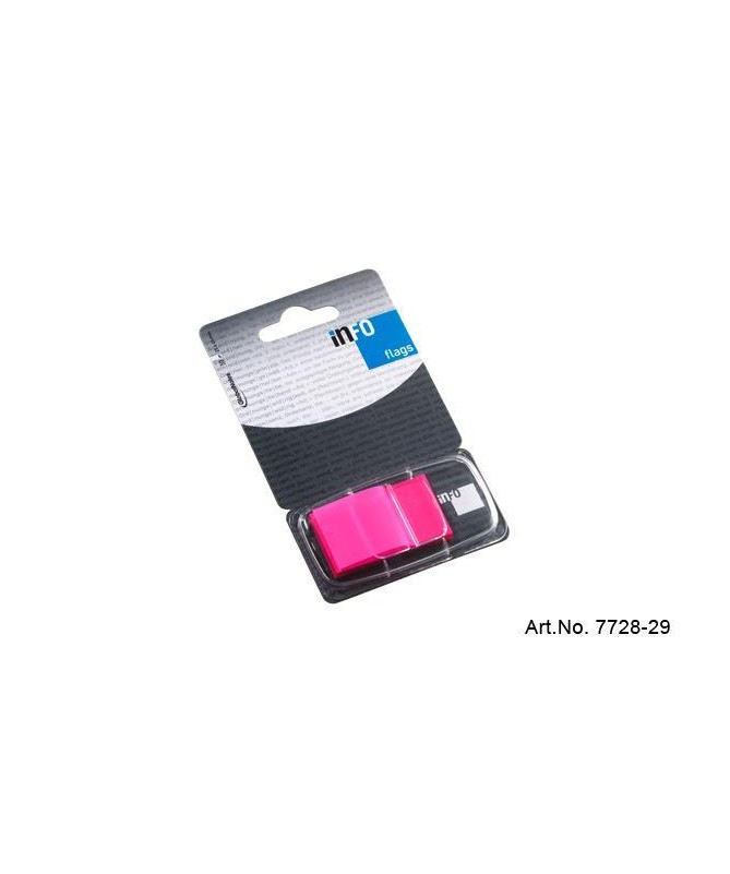 INFO FLAGS ON PAPERCARD 1x25x43mm PET FOIL PEMBE