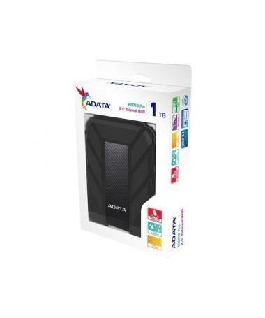 Disk i jashtëm HDD ADATA HD710 AHD710P-1TU31-CBK (1 TB, 2.5 Inch, USB 3.1, 8 MB, 5400 rpm, e zezë )