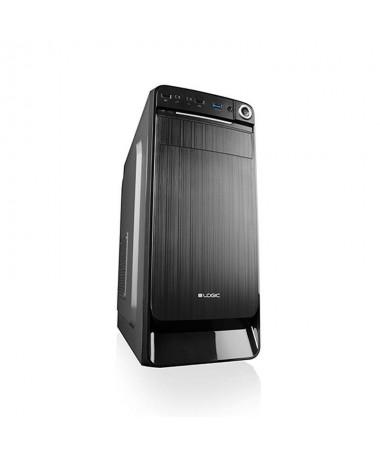 Shtëpizë kompjuteri LOGIC K3 AT-K003-10-0000000-0002 (ATX, e zezë)