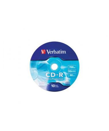 CD-R Verbatim 43725 (700 MB, x52, 10, Spindle)