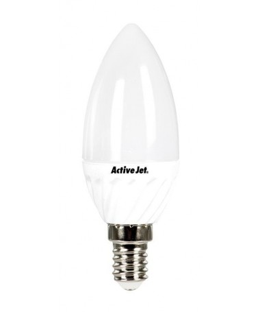 Poç LED SMD Activejet (Candle/ 470 lm/ e bardhë neutral/ 6 W / E14)