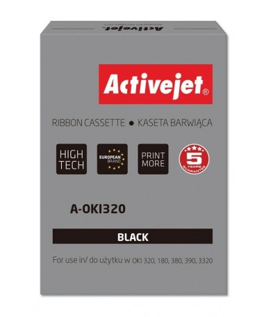 Kertrixh ribbon Activejet A-OKI320 ( OKI 9002303, Supreme, black)